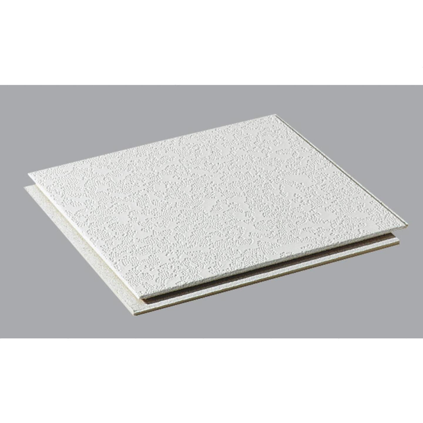 BP Silencio Cambray 12 In. x 12 In. White Wood Fiber Nonsuspended Ceiling Tile (32-Count) Image 1