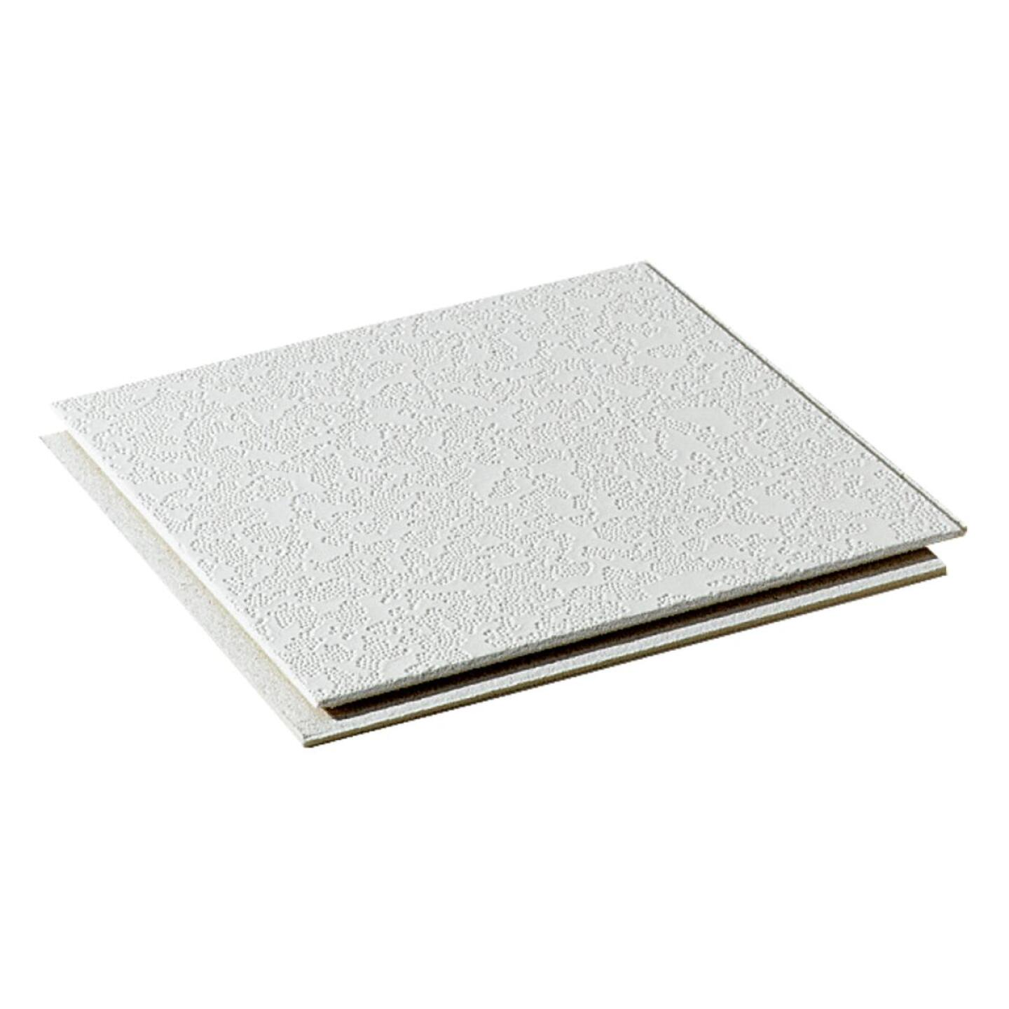 BP Silencio Cambray 12 In. x 12 In. White Wood Fiber Nonsuspended Ceiling Tile (32-Count) Image 2