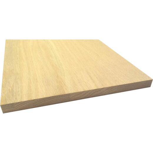 Waddell 1 In. x 12 In. x 8 Ft. Red Oak Board