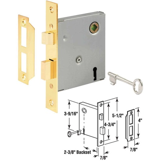 Prime Line Bit Key Mortise Lock