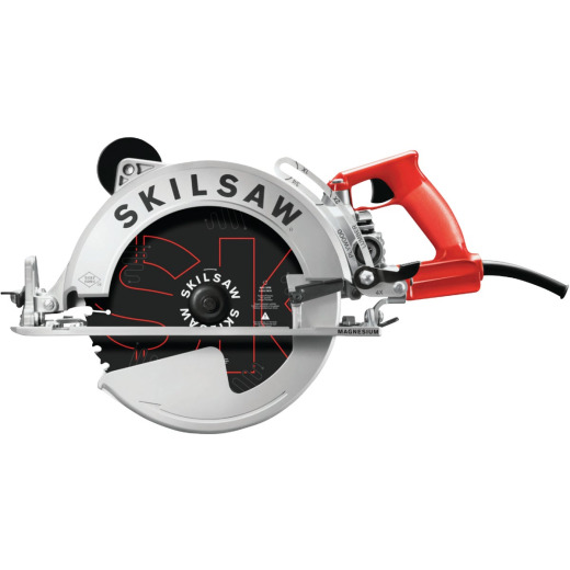 SKILSAW Sawsquatch 10-1/4 In. 15-Amp Magnesium Worm Drive Circular Saw