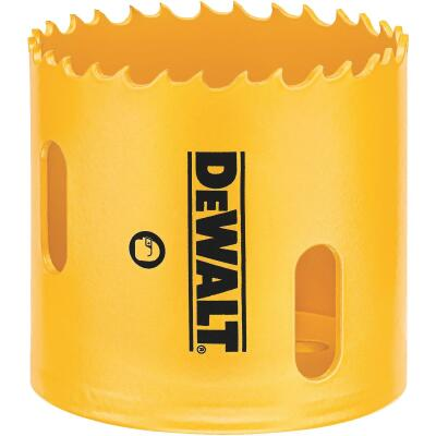 DeWalt 2-1/8 In. Bi-Metal Hole Saw