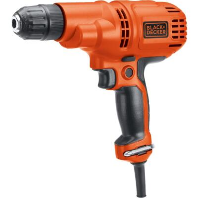 Black & Decker 3/8 In. 5.2-Amp Keyless Electric Drill/Driver