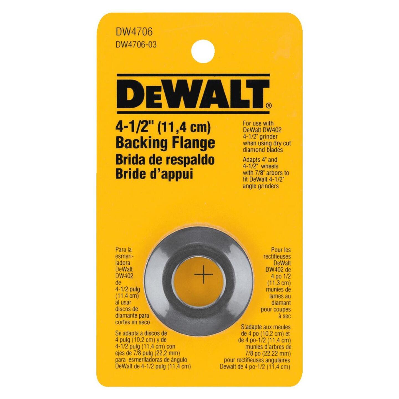 DeWalt 4-1/2 In. Angle Grinder Back Flange Image 2