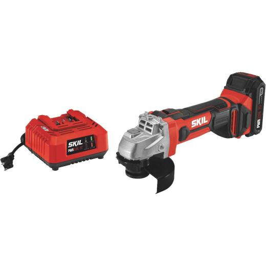 SKIL PWRCore 20 Volt Lithium-Ion 4-1/2 In. Cordless Angle Grinder Kit