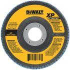DeWalt 4-1/2 In. 60-Grit Type 29 High Performance Angle Grinder Flap Disc Image 1