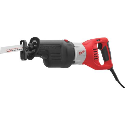 Milwaukee Sawzall 13-Amp Orbital Reciprocating Saw Kit