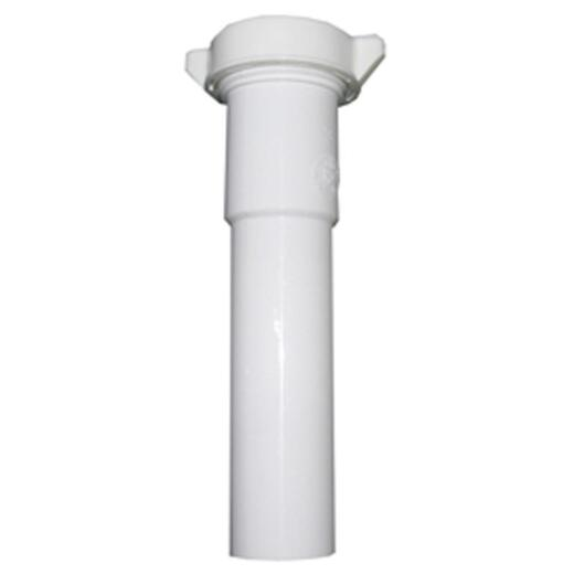 Lasco 1-1/2 In. OD x 6 In. White Plastic Extension Tube