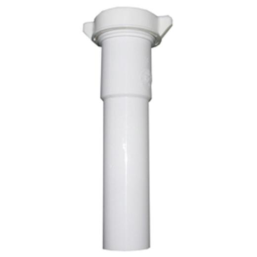 Lasco 1-1/2 In. OD x 8 In. White Plastic Extension Tube