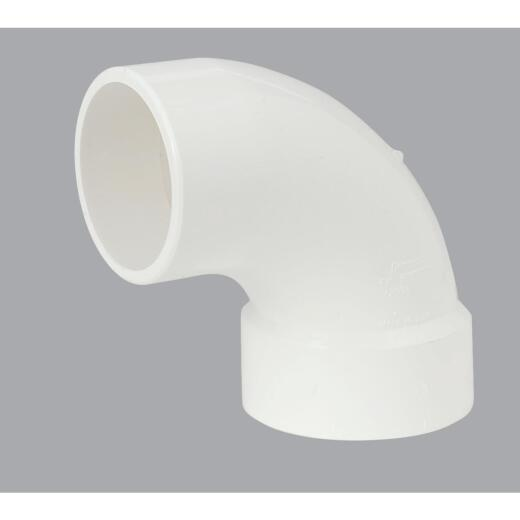Charlotte Pipe 3 In. 90D PVC Street Elbow