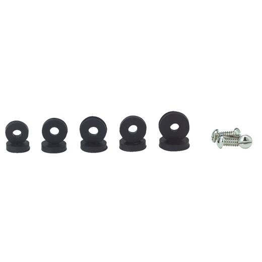 Danco Assorted Black Flat Faucet Washer