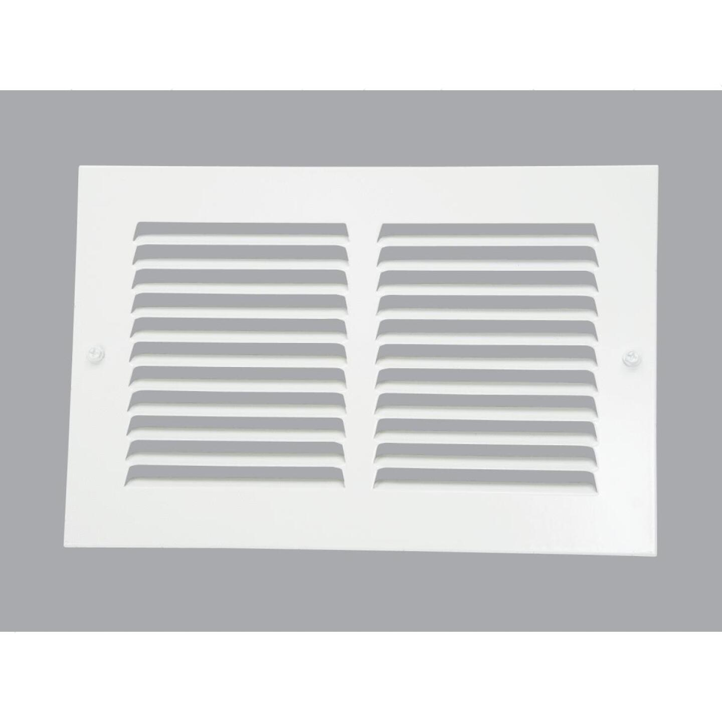Home Impressions 6 In. x 10 In. Stamped Steel Return Air Grille Image 1