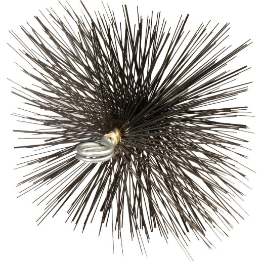 Meeco's Red Devil 7 In. Square Wire Chimney Brush