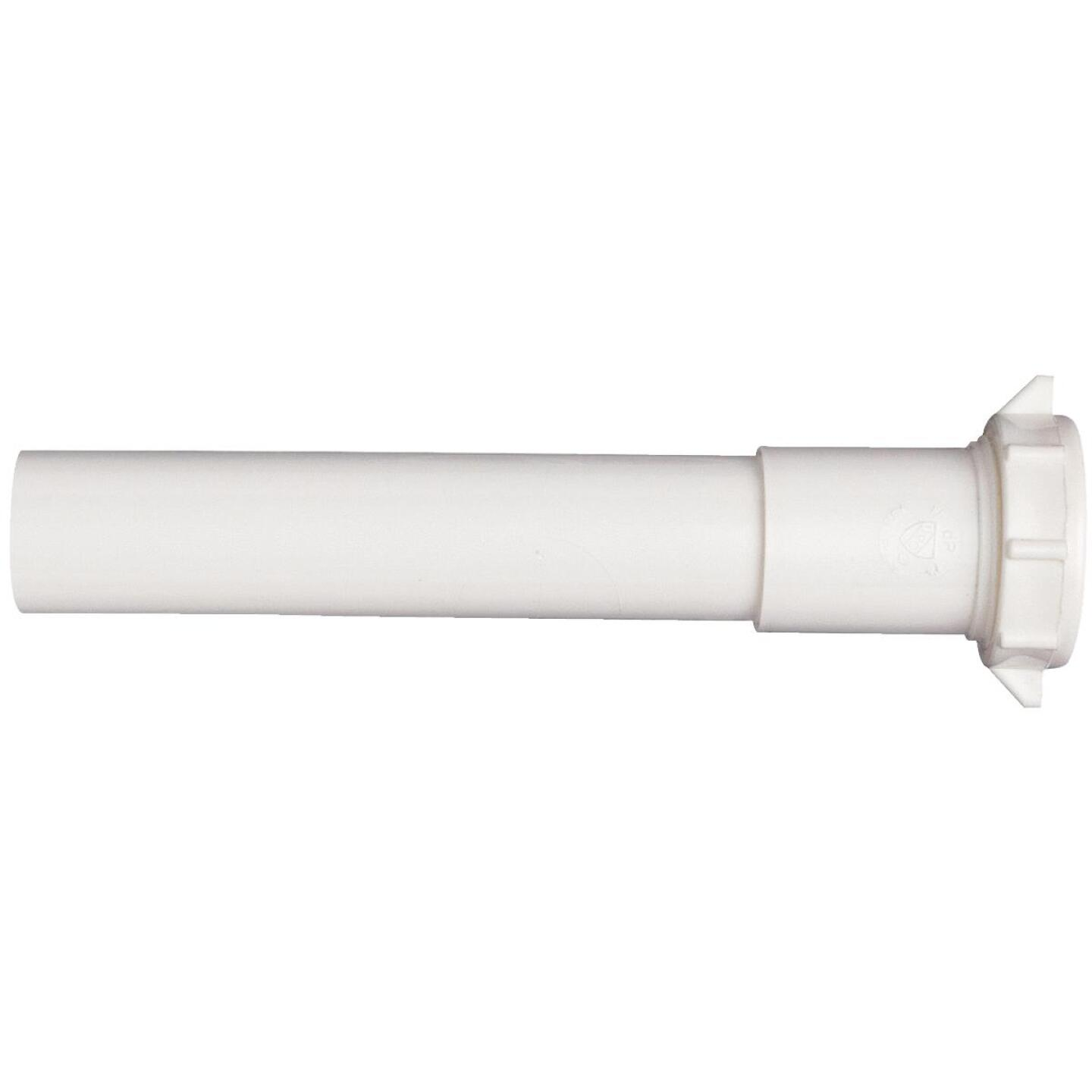 Do it 1-1/4 In. x 6 In. White Plastic Extension Tube Image 1