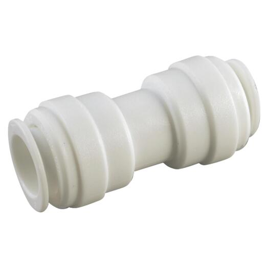 Anderson Metals 1/2 In. x 1/2 In. Push-In Plastic Coupling