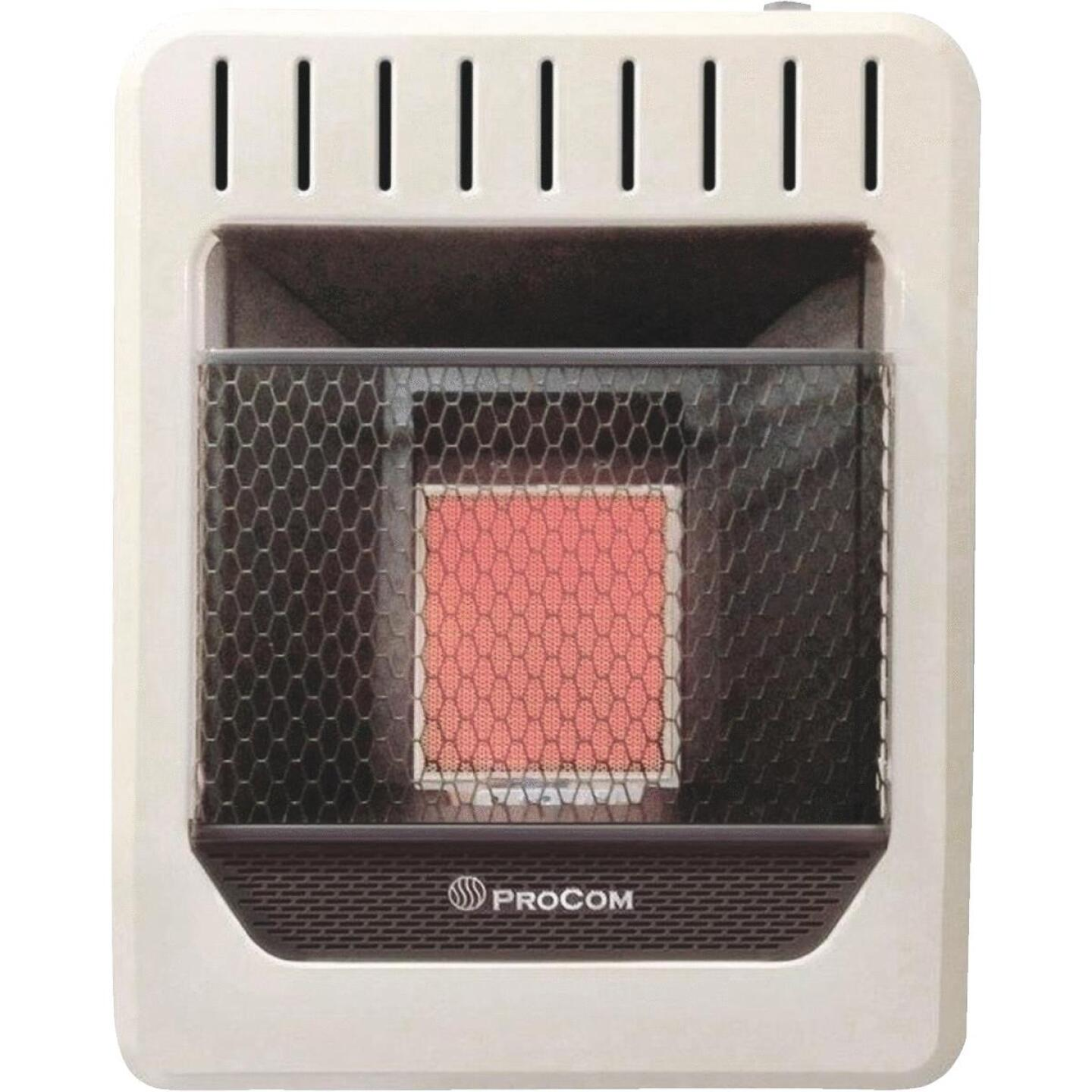 ProCom 10,000 BTU Natural Gas Vent-Free Infrared Plaque Gas Wall Heater Image 1
