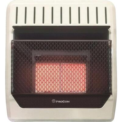 ProCom 18,000 BTU Propane Gas Vent-Free Infrared Plaque Gas Wall Heater