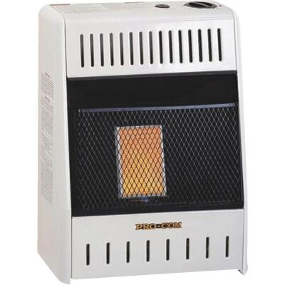ProCom 6000 BTU Natural Gas Vent-Free Infrared Plaque Gas Wall Heater
