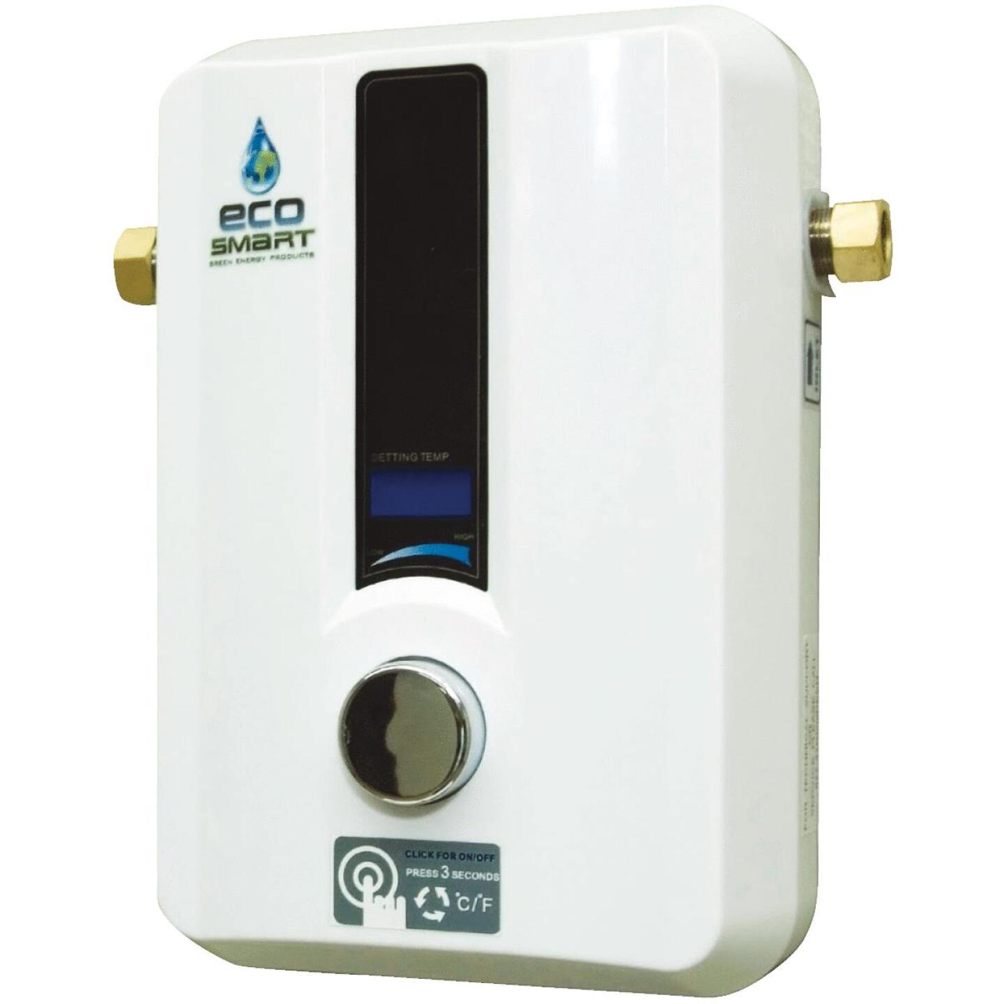EcoSMART 240V 13.6kW Electric Tankless Water Heater Image 1