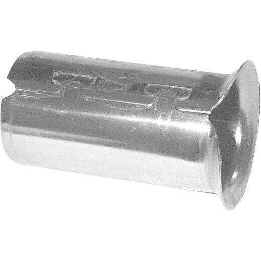 A Y McDonald 1 In. Stainless Steel Insert Stiffener for CTS Poly Pipe