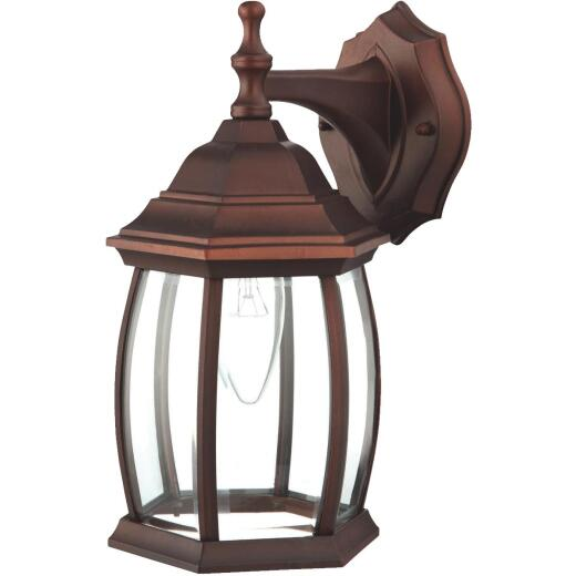 Home Impressions Antique Copper Incandescent Type A Outdoor Wall Light Fixture