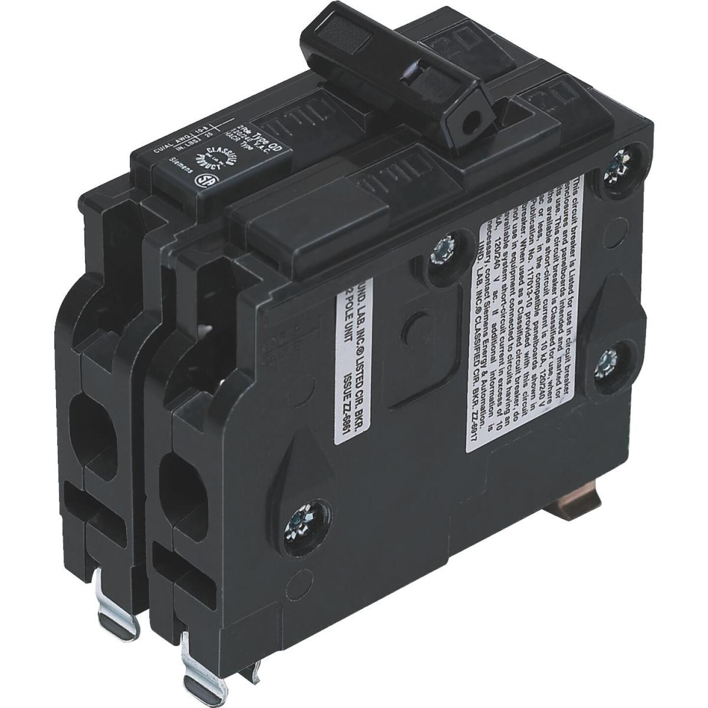 Connecticut Electric 20A Double-Pole Standard Trip Packaged Replacement Circuit Breaker For Square D Image 1