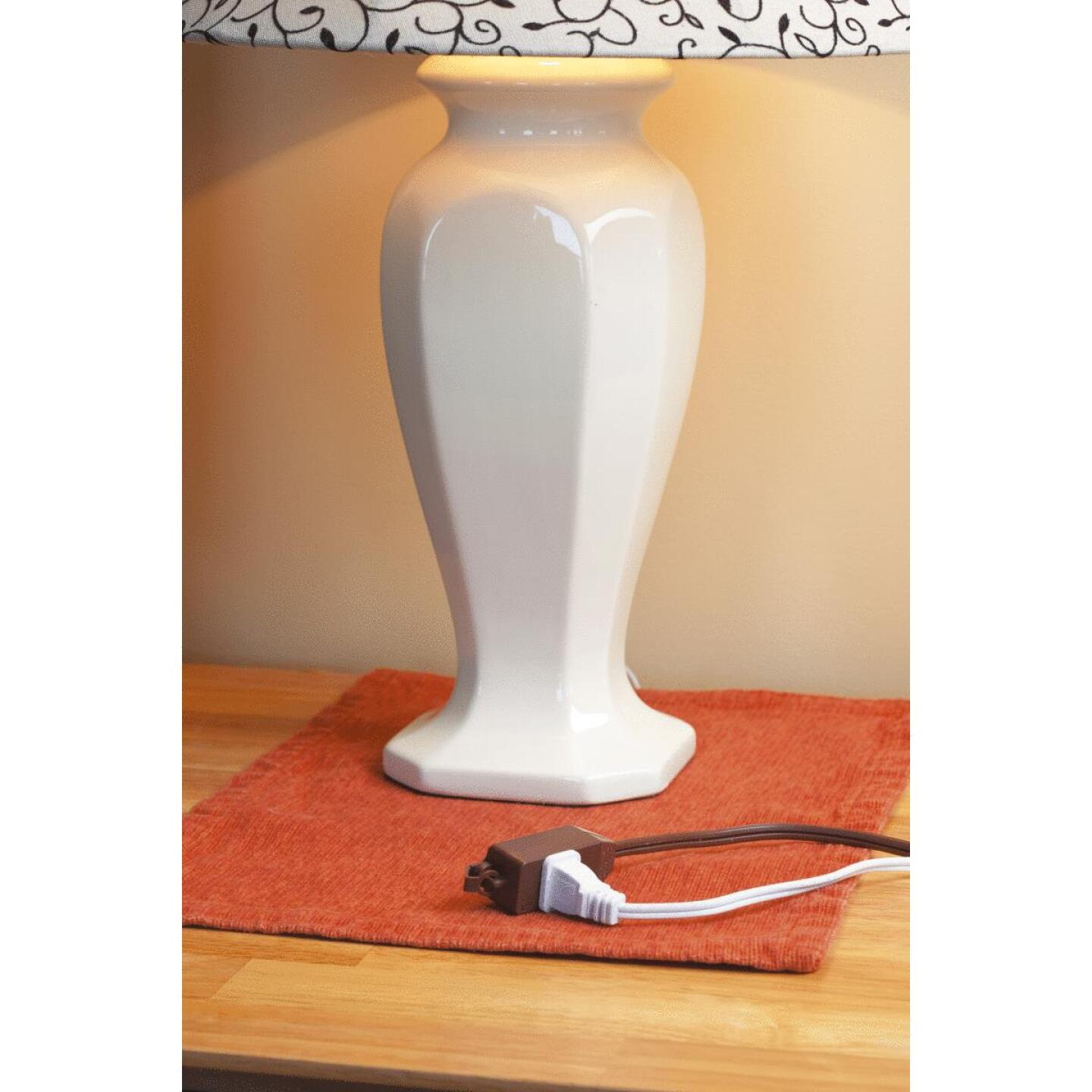 Do it Best 9 Ft. 16/2 Brown Cube Tap Extension Cord Image 2