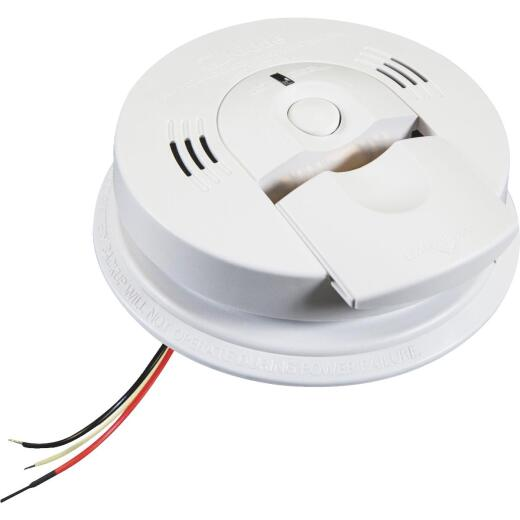 Kidde KN-COSM-IBA Hardwired 120V Electrochemical/Ionization Carbon Monoxide and Smoke Alarm