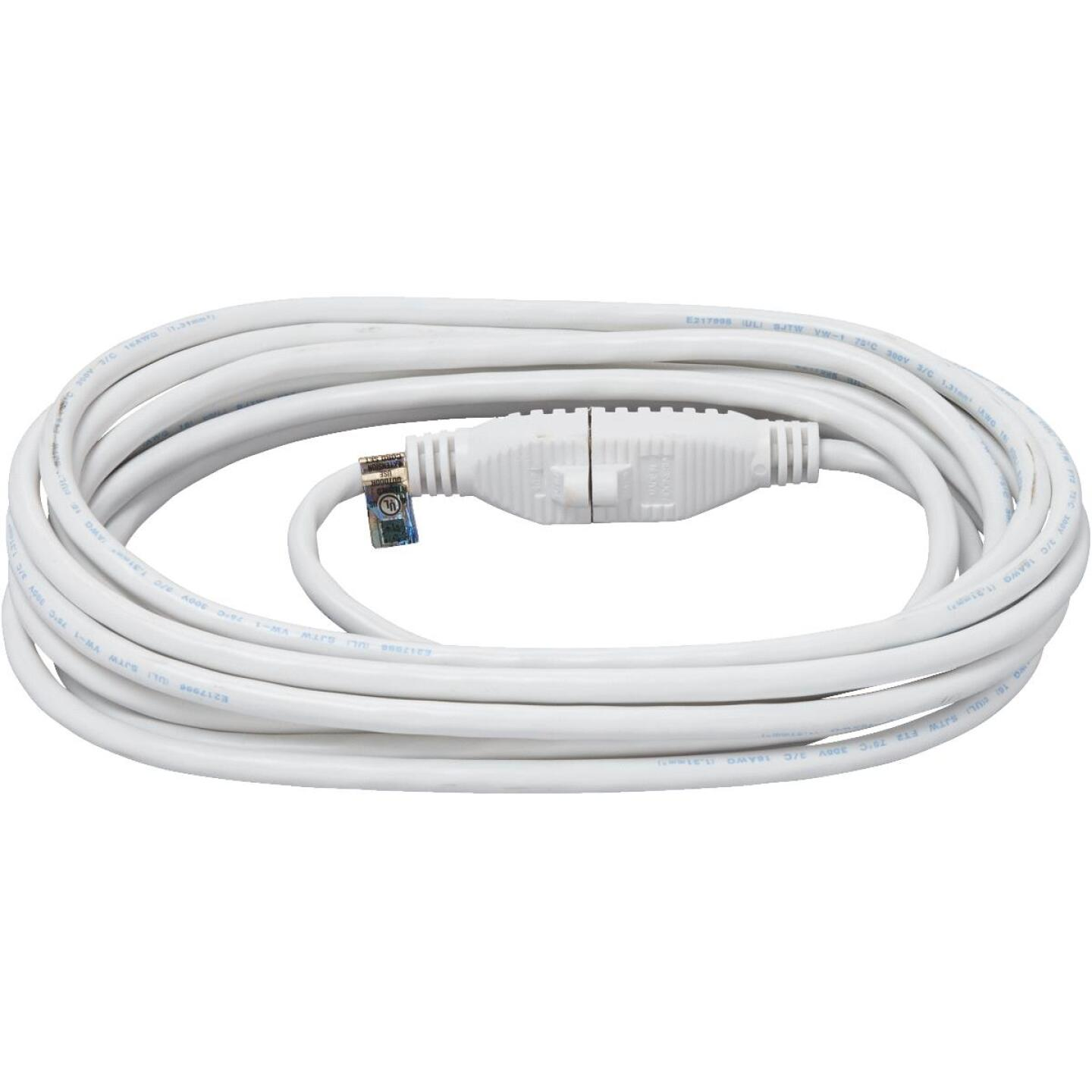 Do it Best 20 Ft. 16/3 Medium-Duty White Patio Extension Cord Image 2