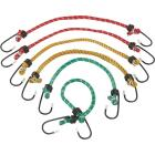 Smart Savers 6mm x 12 In. Coated Bungee Cord (6-Pack) Image 3