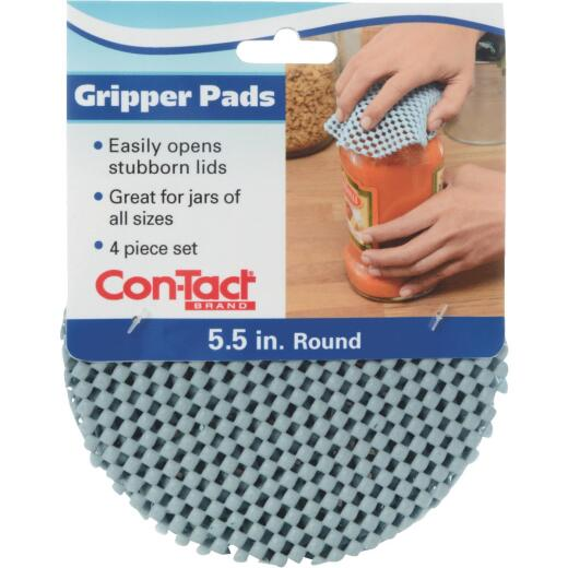 Con-Tact 5-1/2 In. Dia. Lagoon Gripper Pad (4 Count)