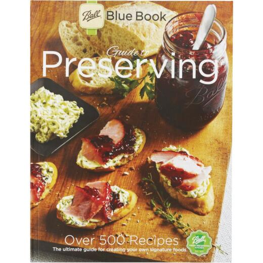 Ball 37th Edition Blue Preserving Book