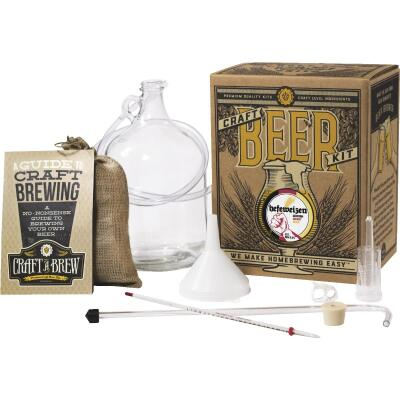Craft A Brew Hefeweizen Beer Brewing Kit (11-Piece)