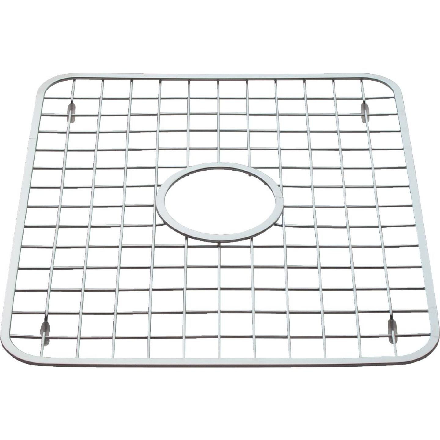 InterDesign Aria 12-3/4 In. x 11 In. Sink Rack Grid Image 1