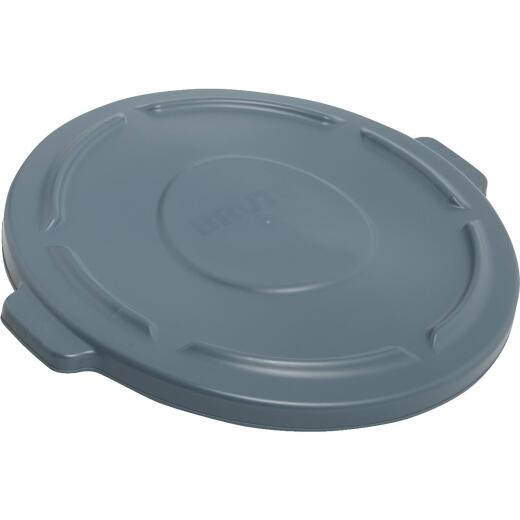 Rubbermaid Commercial Brute Gray Trash Can Lid for 44 Gal. Trash Can