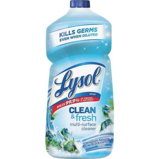 Lysol 40 Oz. Waterfall Splash & Mineral Essence Multi-Surface Cleaner