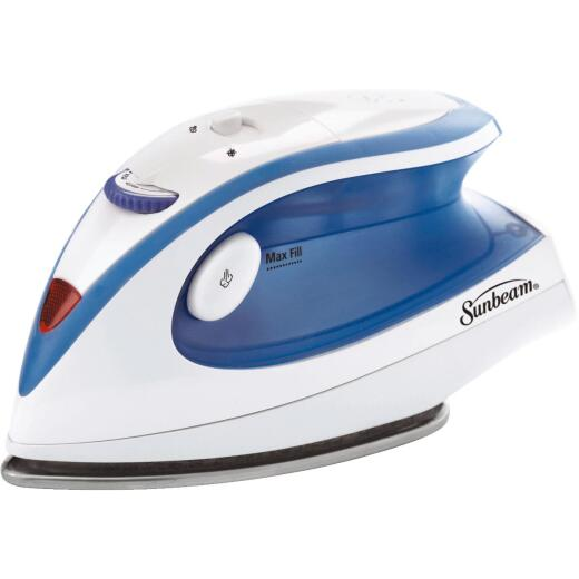 Sunbeam Hot-2-Trot Compact Travel Steam Iron