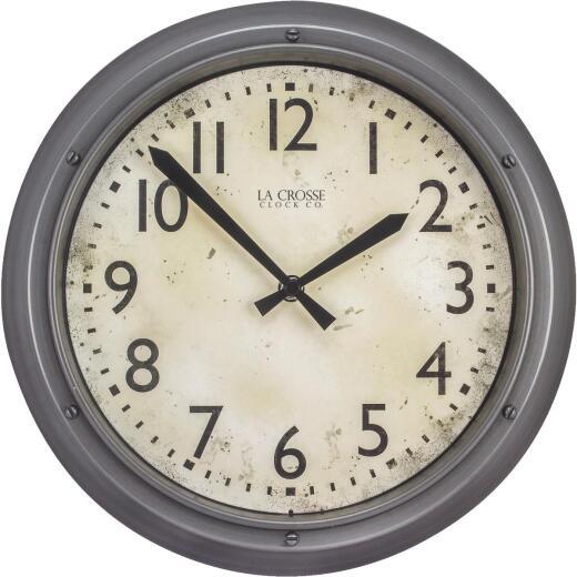 La Crosse Technology Metallic Finish Wall Clock