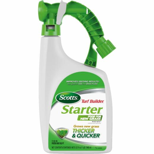 Scotts Turf Builder 32 Oz. 600 Sq. Ft. 7-12-15 Liquid Starter Fertilizer