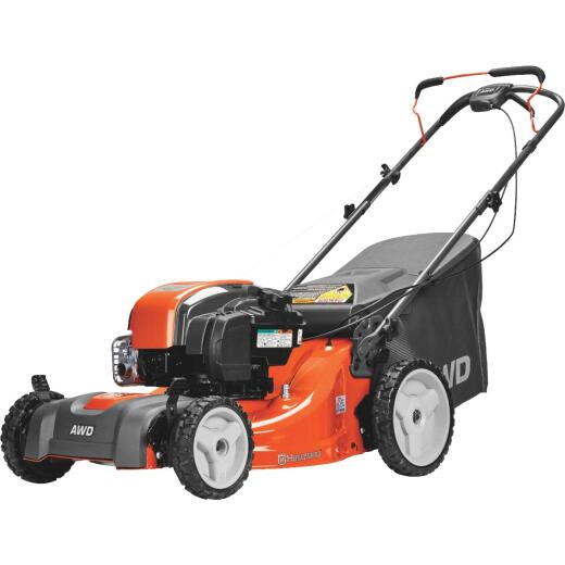 Husqvarna LC221AH 21 In. 163cc Briggs & Stratton High Wheel Self-Propelled Gas Lawn Mower