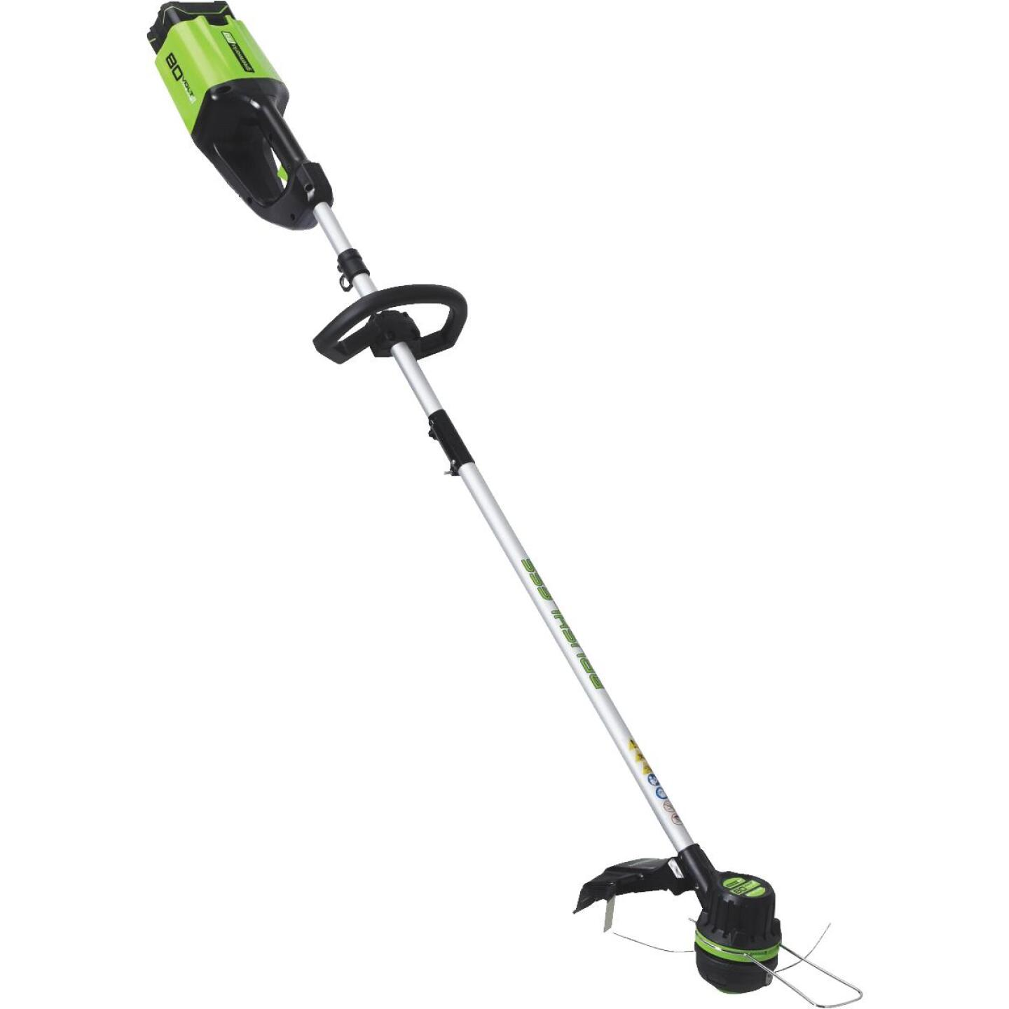 Greenworks Pro 80V 16 In. DigiPro Lithium Ion Straight Cordless String Trimmer Image 4