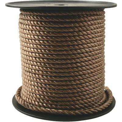 Do it 3/8 In. x 300 Ft. Brown Twisted Unmanila Polypropylene Rope