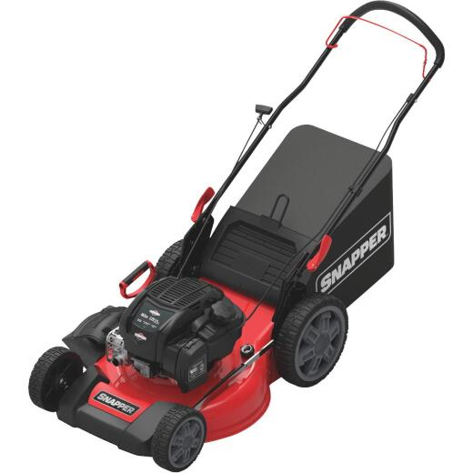 Snapper 21 In. 3-In-1 High Wheel Walk Behind Push Gas Lawn Mower