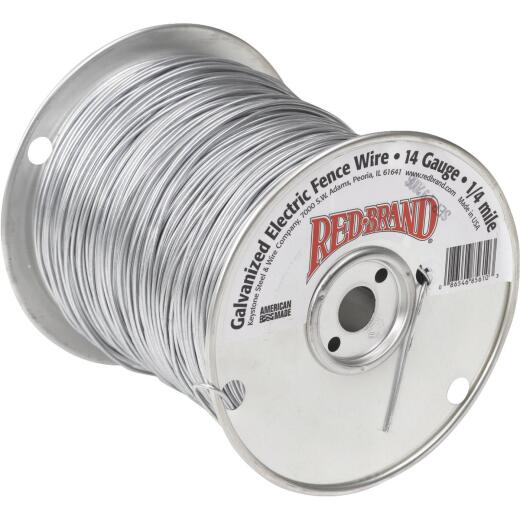 Keystone Red Brand 1/2-Mile x 14 Ga. Steel Electric Fence Wire