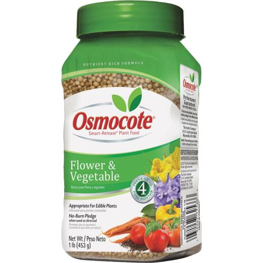 Osmocote 1 Lb. 14-14-14 Flower & Vegetable Smart Release Dry Plant Food