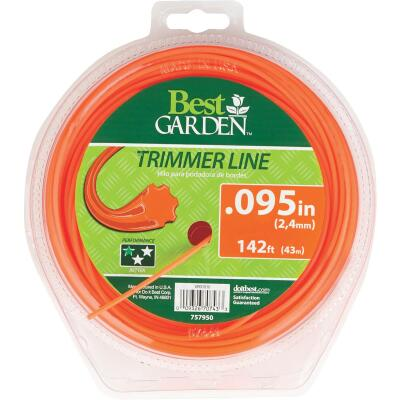 Best Garden 0.095 In. x 142 Ft. 7-Point Trimmer Line