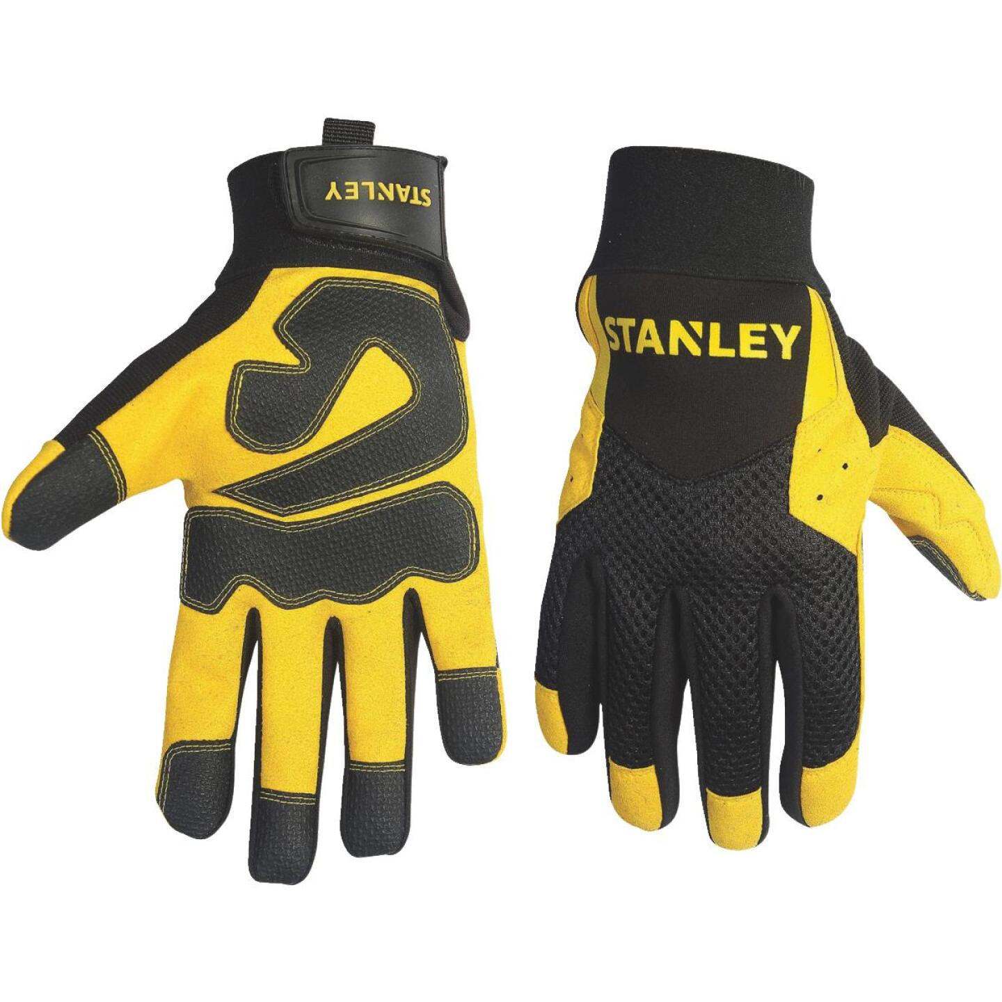 Stanley Men's XL Synthetic Leather High Performance Glove Image 1