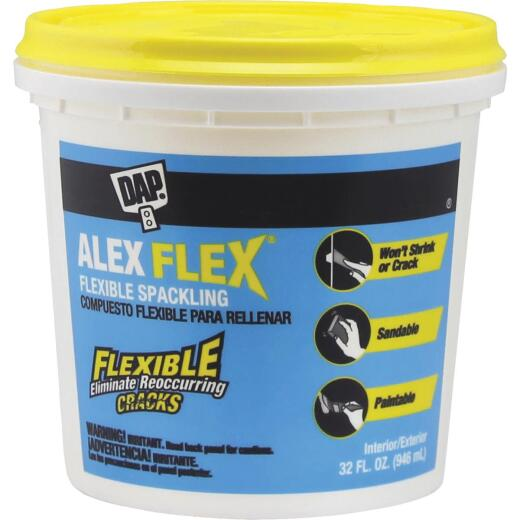 Dap Alex Flex 32 Oz. Heavy-Duty Acrylic Spackling