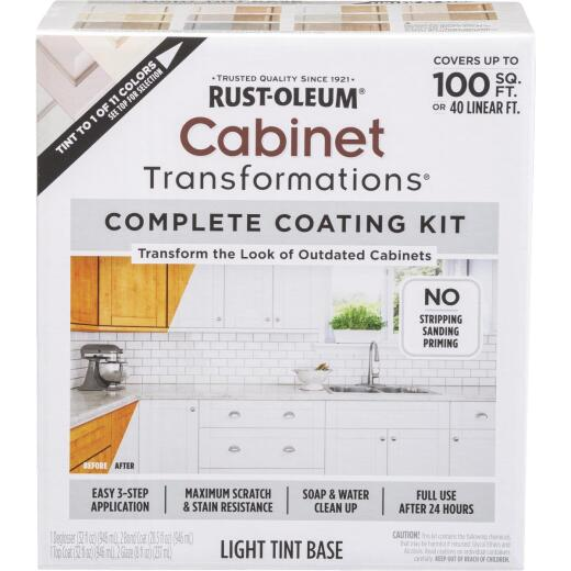 Rust-Oleum Transformations Light Tint Base Satin Cabinet Coating Kit