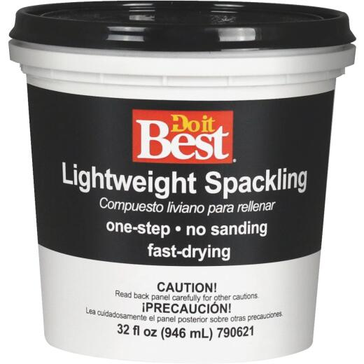 Do it Best 1 Qt. Lightweight Acrylic Spackling